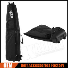 Golf Factory OEM / ODM Golf Two Wheeled Travel Cover Bags