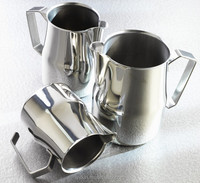 barista long spout Stainless Steel milk jug