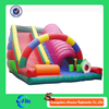 rainbow colorful inflatable slide inflatable floating slides prices