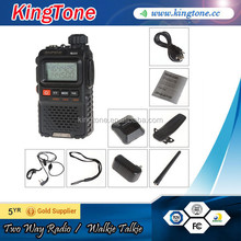 free earphone UV-3R+, Dual band dual display interphone two way radio BAOFENG UV-3R PLUS