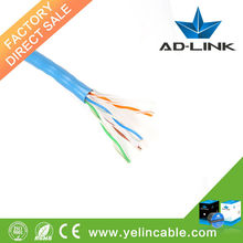 Factory competitive price CCA.BC copper 23AWG UTP cat6 lan cable