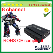 Geo-fence Control Device 8 Ch Mobile DVR HDD WIFI GPS UPS H 264 D1 3G