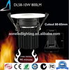 5W cob led downlight driver inside IP65 waterproof fire rated ceiling light SGS 90mins cob dimmable downlight BS-476 FIRE RATED
