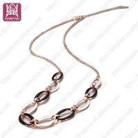 ceramic jewelry set pendant necklace fashion dollar chain necklace