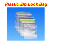 Custom Printing Order Small Size Colored Smart Plastic Zipper Bags For storage
