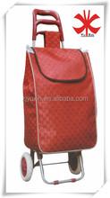 Portable folding shopping cart