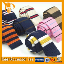 Casual plain color solid color Knit Tie many designs for your choice