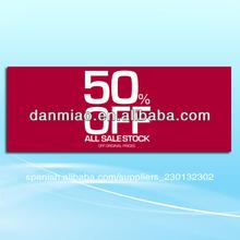 1200mm*450mm 300 gsm artcard del cartel <span class=keywords><strong>de</strong></span> techo