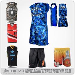 custom mens fashion basketball uniform/jersey big and tall, basketball shorts
