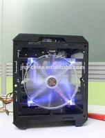 Brand new plastic atx computer case super tower 3d paper pc casing with great price