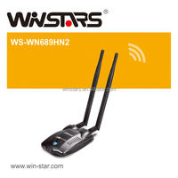 high power usb2.0 wifi adapter. 300Mbps Wireless network adapter,Support 2.4GHz WLAN networks