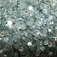 crystal AB stone ; crystal stone for nails ; flat back ABcrystal stone