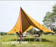 Estilo coreano projeto Camping Tent Tarp toldo para barcos