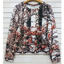 Chinese top shop formal full printed women tops