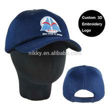 El precio de fábrica y de alta calidad personalizados de poliéster de malla gorra de béisbol, completo de malla gorra de béisbol