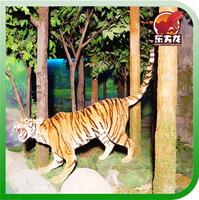 Forest Animatronic Animal Life Size Tiger Model
