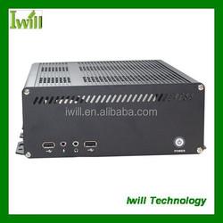 Iwill X8 aluminum industrial mini itx case for car