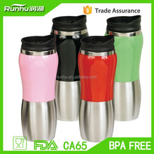 Excellent craft double-wall popular design for traveling go hiking water travel mug RHSP316-16