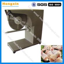 industrial de corte de pollo de aves de corral de la máquina de corte de la máquina