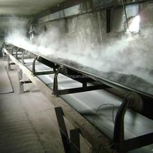 Smooth surface black heat resistant ep conveyor belt