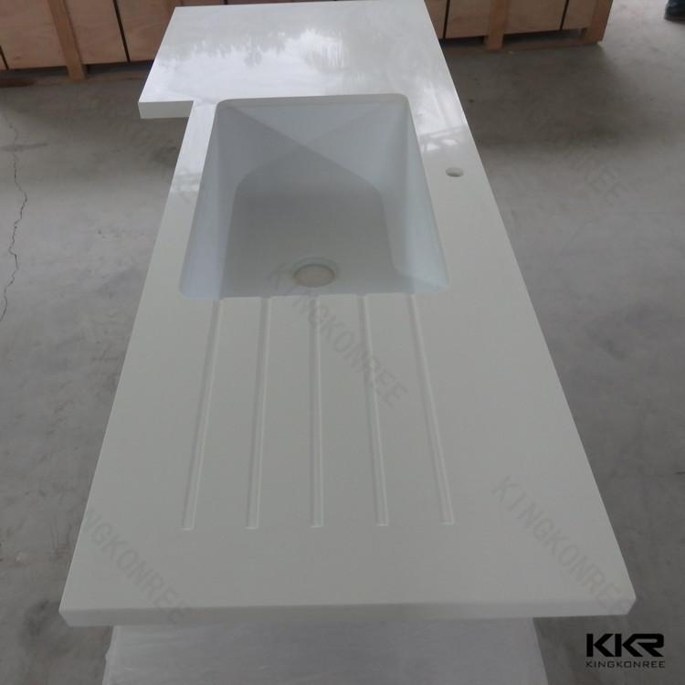 cocina encimera de piedra artificial de resina epoxi