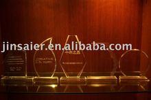 Acrílico premio/stand/placa/trofeo