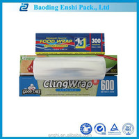 Customize PE transparent best fresh film food grade plastic wrap for flower