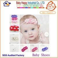 Elastic headbands baby bow ties headbands