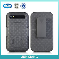Alibaba wholesale belt clip holster combo phone case cover for Blackberry Q20