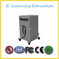 Certificated ipad/laptop charging cart/cabinet/trolley for school