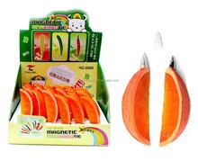 Different fruit shape pen/Promotional orange shape ball pen