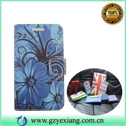 Wallet Stand Leather Case For Samsung G313H,Book Magnetic Leather Case For Galaxy ACE 4