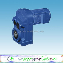 ST Drive Brand F37- F157 model parall shaft helical hollow shaft gear speed reducer