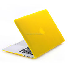 customized rubber matte case for apple macbook pro, crystal plastic case for apple laptop, rubber case for apple laptop mac book