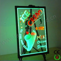 2014 New Hot Transparent LED Writing Board