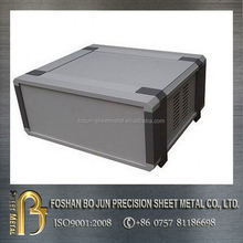 customized sheet metal aluminum project box with accessories