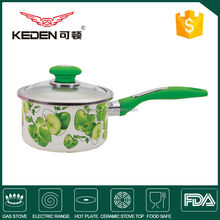 Enamel carbon steel Material eco-friendly cooking milk pot