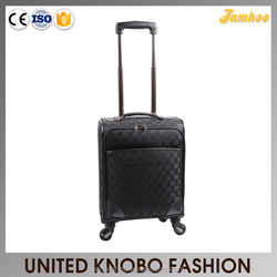 Nylon luggage trolley bag travel case carry-on luggage