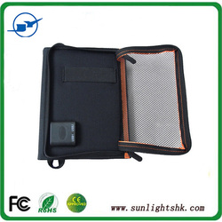 China manufacturer travel mobile 14w solar panel charger bag for outdoor