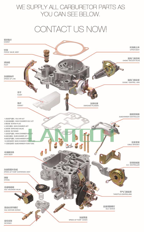 wholesale ldh221 carburador carburetor for datsun  nissan