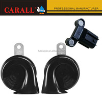 Power ful 12v Snail car horn sound low and high