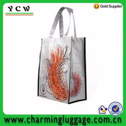 Metallic Color PP Non Woven Laminated Shopping Bag