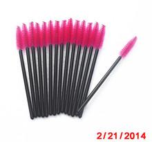 Disposable mascara brush eyelash extension