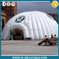 Wholesale inflatable supplies,giant inflatable dome tent for exhibition,advertising with logo