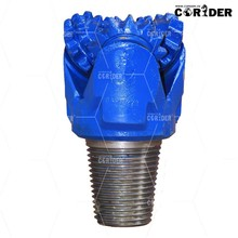 """3 3/4"""" open bearing oil well steel tooth tricone bit"""