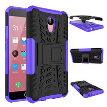 Guangzhou Factory Rugged Shockproof Hybrid Kickstand Case Cover For Meizu M2 Note, For Meizu M2 Note Case Cover