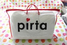 Plastik pillow packaging bag pvc zipper pillow bag