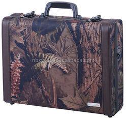 we design and sell aluminum abs gun case leather gun case