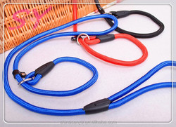 P chain pet dog training supplies high quality easy to pull the preparation of nylon pet dog collar rope color optional