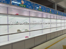 fashion display shelf for shoes store